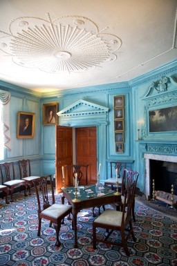 The Front Parlor at George Washington's Mount Vernon