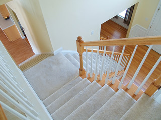 Carpeted stairs in your plantation home is a safer option